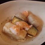 ロバ - 里芋と生麩のゆずあんかけ
