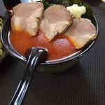 天将 - チャーシュー四川味噌つけ麺 つけダレ