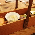 アラルデ - 箱~小皿4種