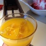 Cafe Koume - 16/8/6 温州みかんジュース