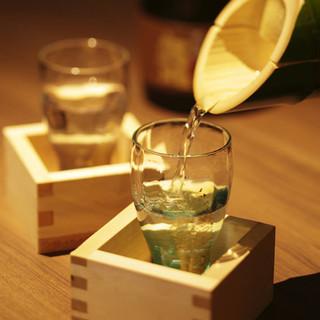 〝日本の伝統色が美しい香川のお酒〟地酒も豊富にご用意
