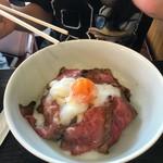 54763389 - ローストビーフ丼