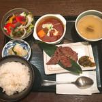 54765161 - 牛タン三昧定食
