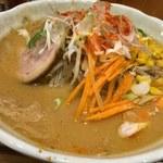 味噌蔵らーめん まるしゅう - new味噌ラーメン(麺が新しく)