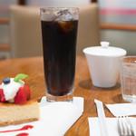 グラマシーニューヨーク - 2016.8 ケーキのセットドリンク(アイスブレンドコーヒー)