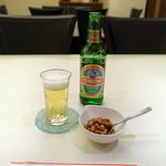 京華飯店 - 青島ビール