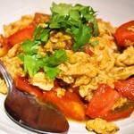 龍麺坊 - トマト玉子炒め