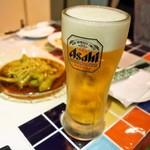 龍麺坊 - 生ビール