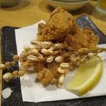 魚可祝 - 大山鶏の唐揚げ(¥630−)