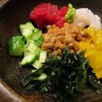 魚可祝 - 六色納豆(¥680−)