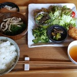まぁ坊豆腐店 - 本日のランチ