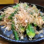 沢乃屋 - ◆オクラの塩焼き