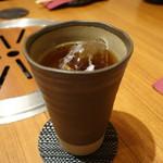 黒毛和牛肉匠 いちえ 本邸 - ☆烏龍茶で乾杯です(^O^)☆