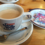 コメダ珈琲店 - ミルクコーヒー