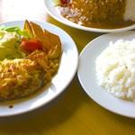 レストラン てんすい - イタリアンハンバーグ ライス付き