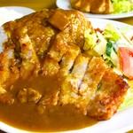 レストラン てんすい - ポークカツカレー 950円