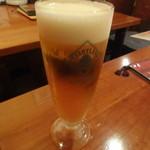 イタリアン居酒屋 にんたま屋台 - ハートランド生ビール(2016年8月来店)