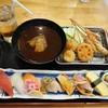 魚輝水産 - 料理写真:寿司8貫串カツ6本定食1,280円