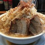 ラーメンつけ麺 笑福 - ラーメン(野菜増し,鰹節ちょい増し)