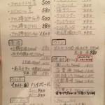 54780047 - メニュー(2016.07)