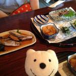 毘沙門茶屋 - B定食(煮魚、刺身) B Combo (Simmered Fish, Sashimi) at Bishamon-chaya, Miura!♪☆(*^o^*)