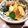 大阪 釆なりうどん - 料理写真:大海老天ぶっかけ(温)