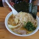 横浜らーめん東名家 - 2016年7月 やさいラーメン 800円
