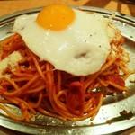 スパゲッティーのパンチョ - スパゲッティ―のパンチョ@池袋店 ナポリタン・目玉焼き・大