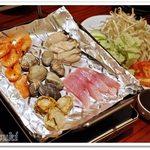 54788773 - 本日の海鮮魚介と季節野菜のア・ラ・ブランチャ