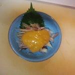 ハイタニ - みょうが酢味噌(¥280)