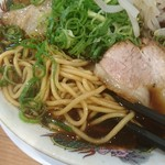 麺屋 龍玄 - 中細麺ストレート