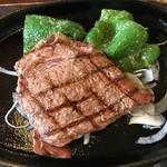 大衆ステーキとハンバーグ炭火焼専門店 ミンチェッタ - 道産牛ステーキ