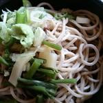 奥会津 - 蕎麦(山菜)