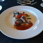 Risutorantetenkuu - メイン料理の選択のイベリコ豚ロースのロースト