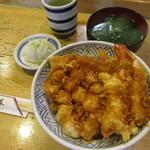 54795667 - 天丼セット ¥1,200