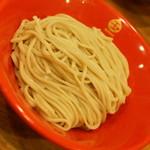 54796033 - つけめん(850円)の麺(中盛り300g)2016年8月
