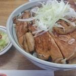 十勝豚丼 いっぴん - 大盛り豚丼(お肉小さめカット)