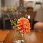 il tram - テーブルの生花