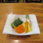 和彩 八倉 - 鎌倉野菜の浅漬け