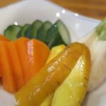 和彩 八倉 - 鎌倉野菜の浅漬けアップ