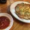 マンナ - 料理写真:韓国チヂミ