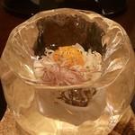 招福樓 - 氷の器に入った冷麦