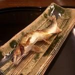 招福樓 - 季節モノ、鮎の塩焼き