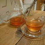 WEEKEND BRUNCH BANQUET - tea & weekend set グレープフルーツティ