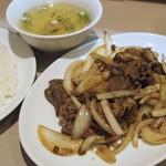 ミンミン - ジンギスカン定食