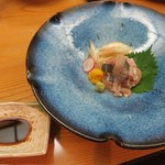 酒讃家 - 岩魚焼き霜お造り