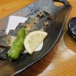 酒讃家 - 山女魚の唐揚げ(アップ)