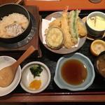 54799786 - 鯛釜飯天ぷらセット