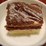 東京バーグ - デザートのマロンケーキ