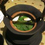 彩箸 - 松茸土瓶蒸し